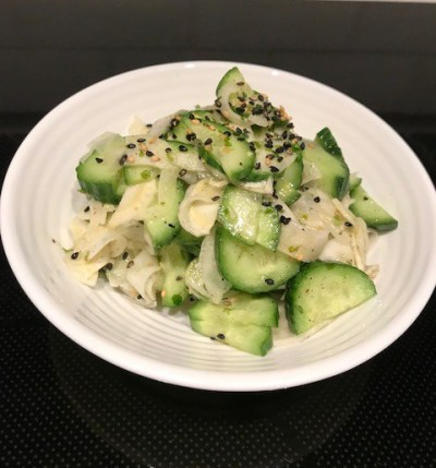 Persian Cucumber and Fennel Salad