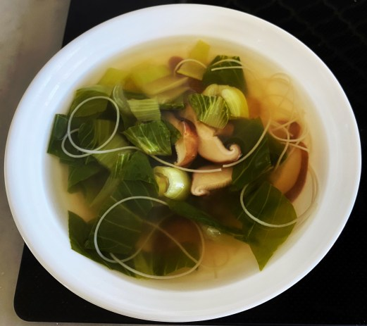 Kombu broth with Mai Fun Noodles