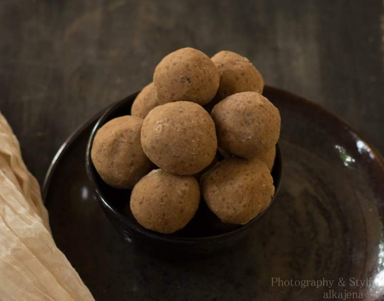 Magaja ladoo atta ladoos recipe culinaryxpress this recipe is an entry to the kitchenaid india navratri challenge for the hub archanas kitchen thecheapjerseys Image collections