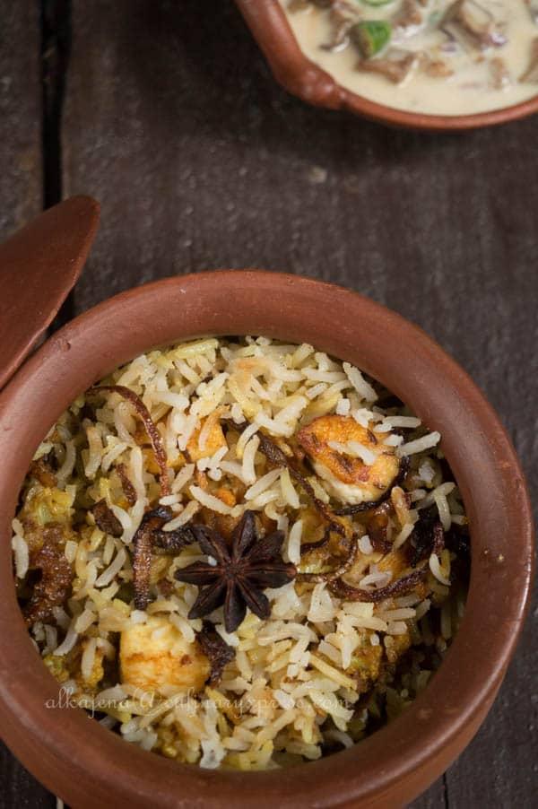 Brown Rice Biryani
