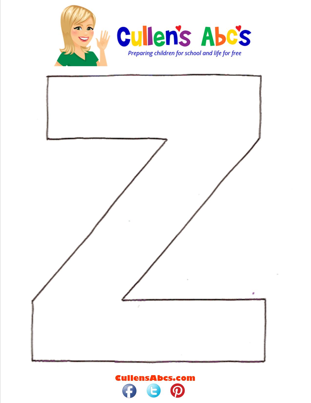 Letter Z Uppercase