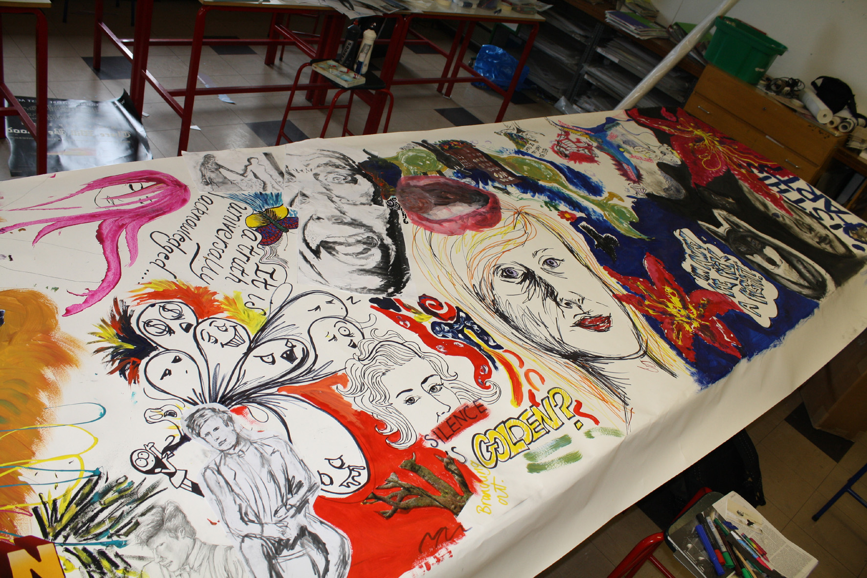39 in progress Culloden Academy Art and Design Blog