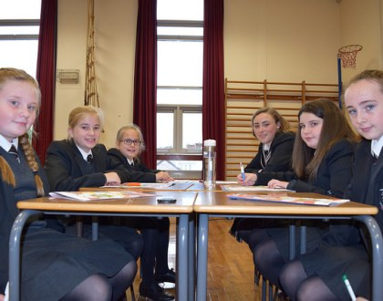 Year 8s Get Down To Business - Young Enterprise