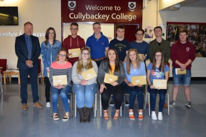 Cullybackey College Students Continue to Excel