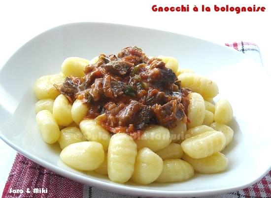 Gnocchi à la bolognaise 2