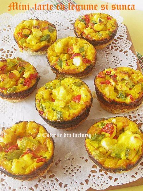 Mini-tarte-cu-legume-si-sunca 1-1