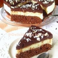 Tort de ciocolata cu crema de cocos