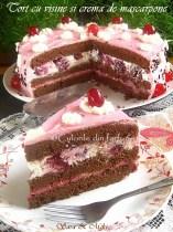 Tort-cu-visine-si-crema-de-mascarpone-1