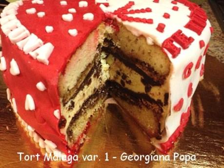 Tort Malaga - Georgiana popa
