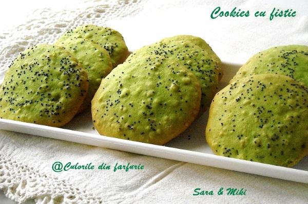 Cookies cu fistic 2