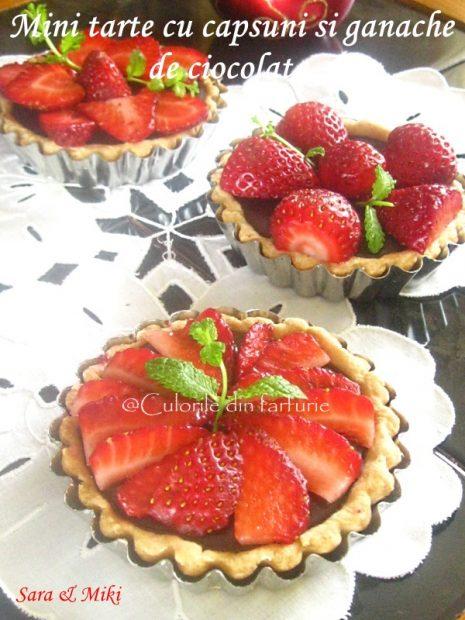 Mini-tarte-cu-capsuni-si-ganache-de-ciocolata-2