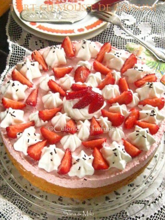 Tort-cu-mousse-de-capsuni-2