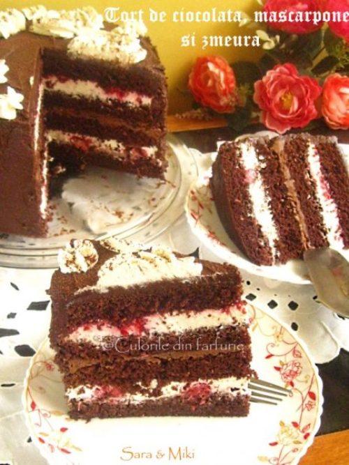 tort-de-ciocolata-mascarpone-si-zmeura-1