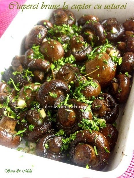 ciuperci-brune-la-cuptor-cu-usturoi-2