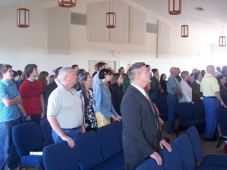 First Worship Service