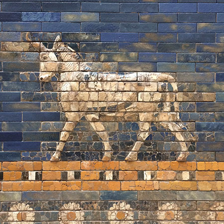 Ishtar gate icon