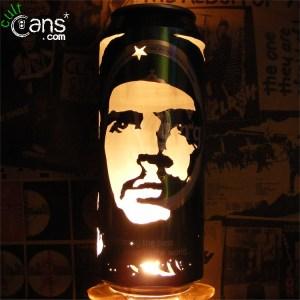 Che Guevara Beer Can Lantern