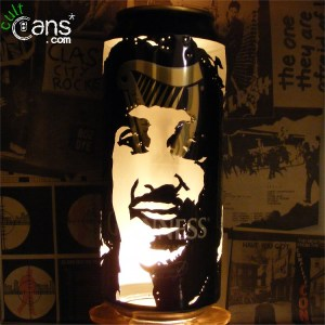 Phil Lynott Beer Can Lantern