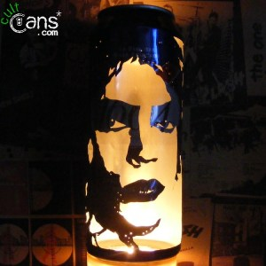 Tim Curry 'Dr. Frank-N-Furter' Beer Can Lantern