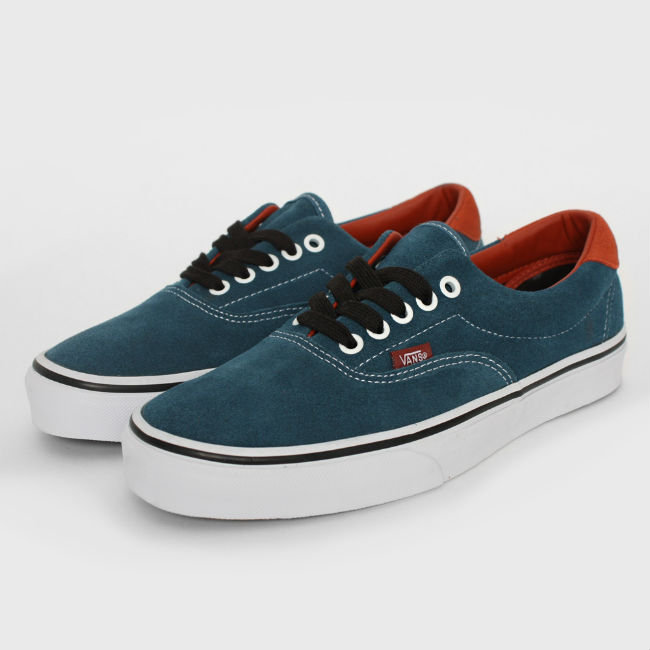 Vans Era 59 Earthtone Suede Indian Teal