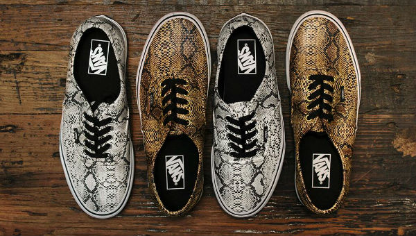 Vans Authentic Snakeskin
