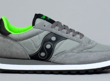 Saucony Jazz Original Grey / Black Citron