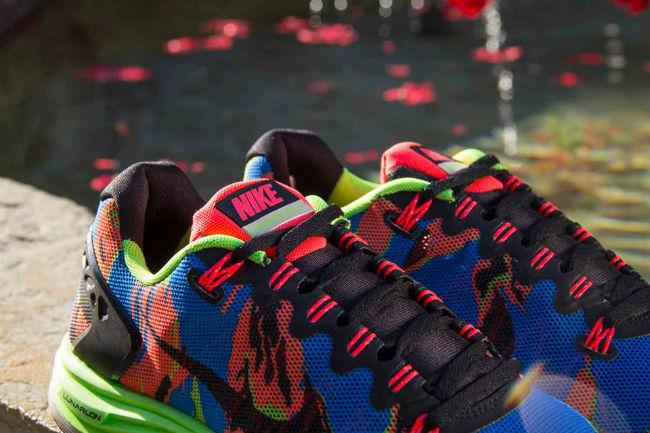 Nike Lunarglide 5 Ext Camo Flash Lime Cult Edge