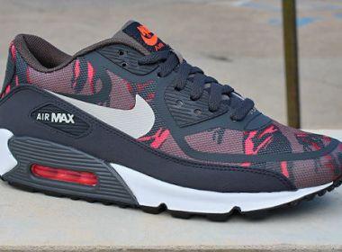 Nike Air Max 90 Premium Tape Red Camo