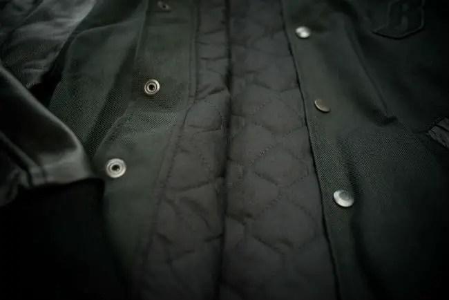 Billionaire Boys Club Black Ballistic Varsity Jacket