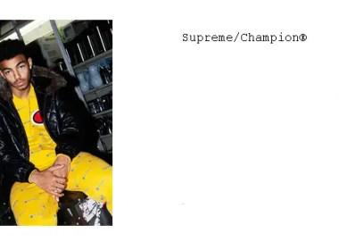 Supreme x Champion