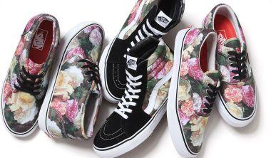 vans x supreme floral pack 2013