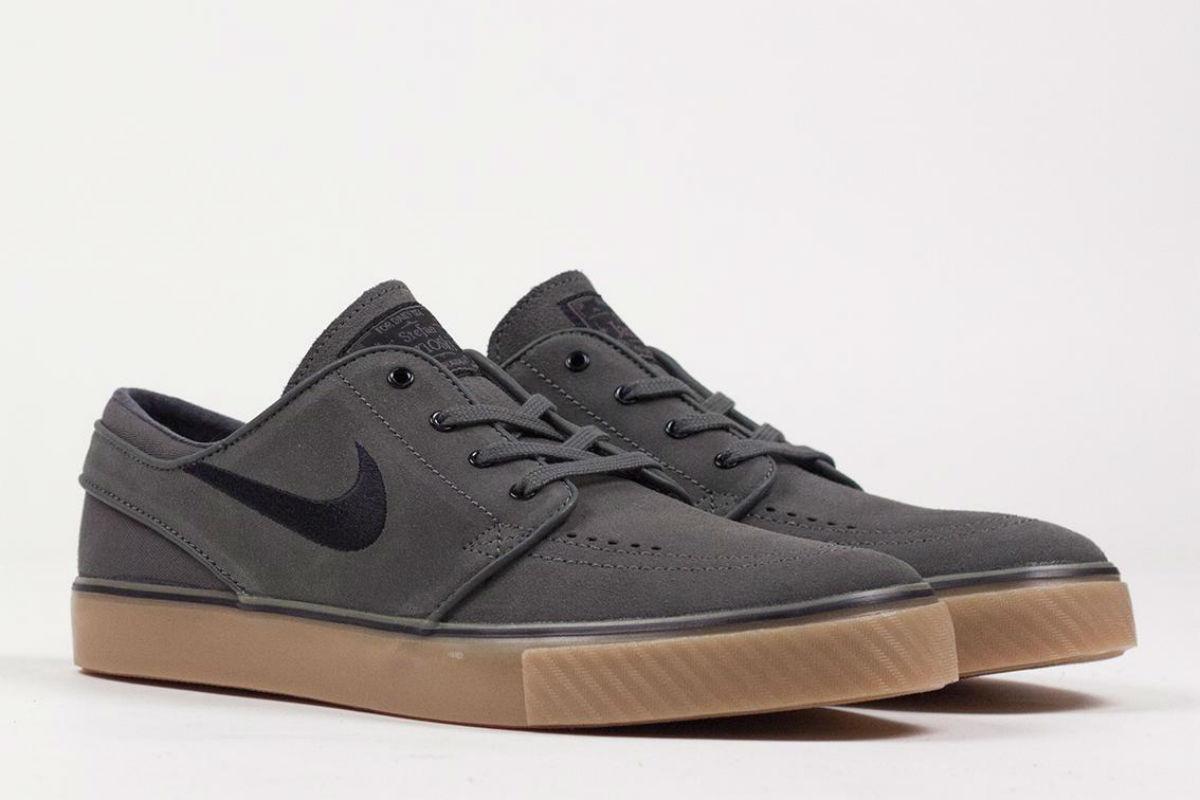 Nike SB Stefan Janoski Dark Base Grey Black Gum   Cult Edge