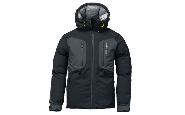 Sail Racing Pole Down Parka Black