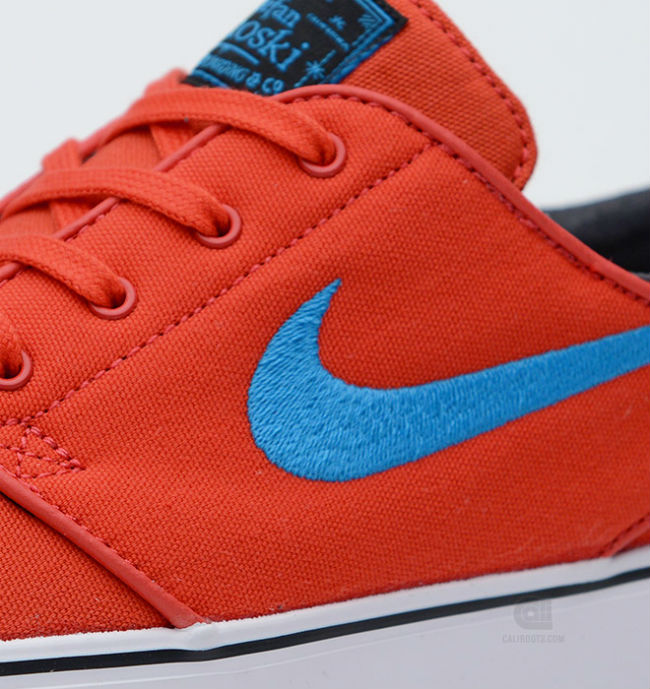 Nike SB Stefan Janoski Canvas Light Crimson / Vivid Blue