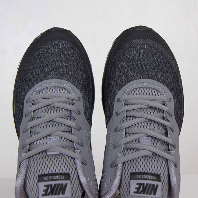 Nike Air Pegasus + 30 Cool Grey / Black / White