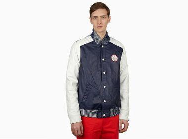 adidas Originals x Opening Ceremony Baseball Leather Varsity Jacket