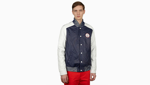 adidas Originals x Opening Ceremony Baseball Leather Varsity Jacket