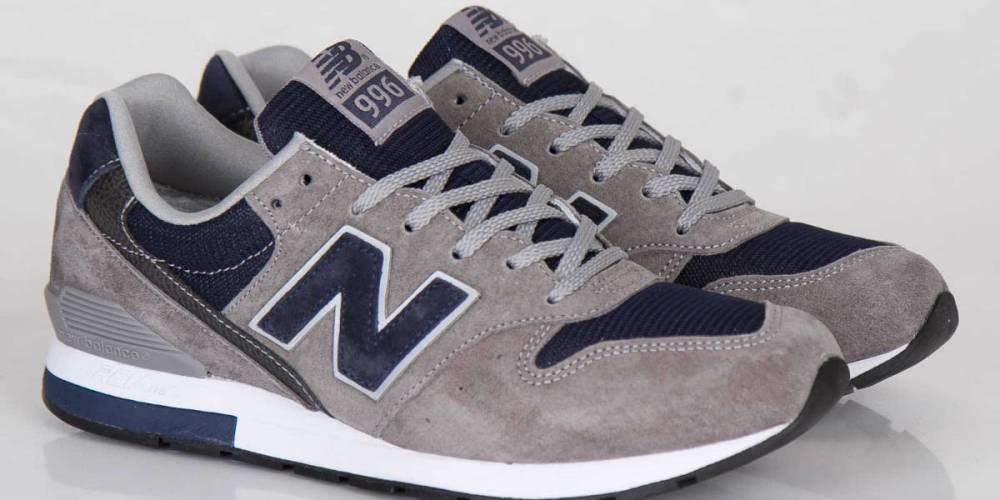 new product 11a63 46a22 New Balance MRL996 Grey / Navy | Cult Edge