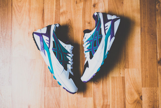 Asics Gel Kayano Grape
