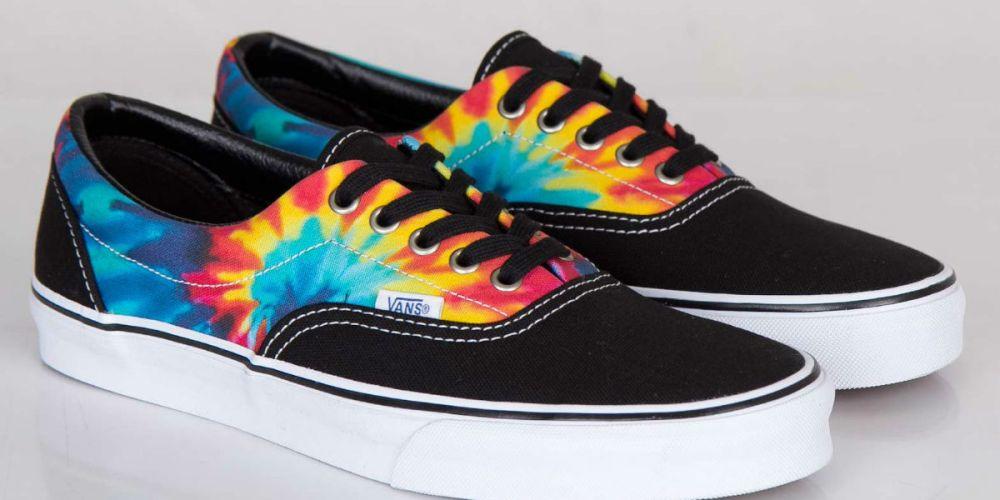 32189b9771 Vans Era Tie Dye Black