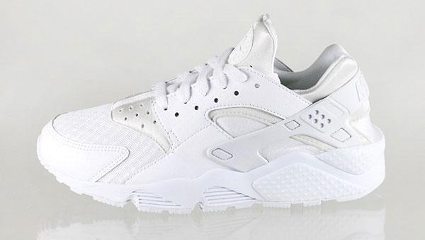 Nike Air Huarache All White / Pure Platinum