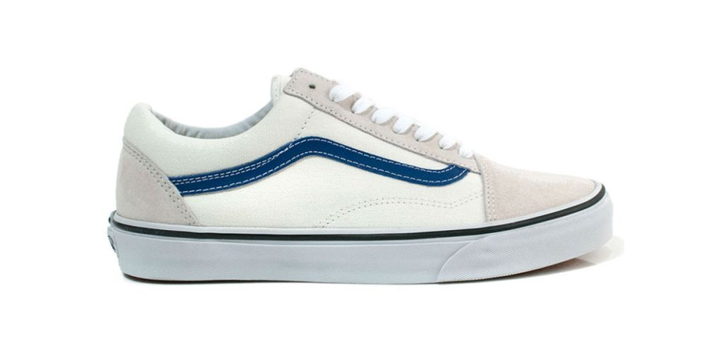 Vans Old Skool White / True Blue