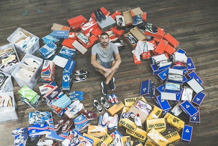 Tiago Escada Ramos Sneaker collection