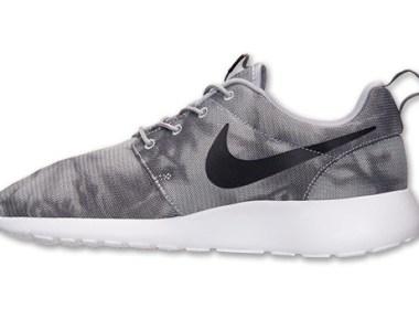Nike Roshe Run Wolf Grey / Black