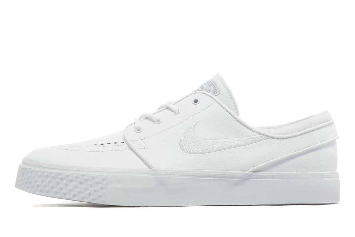 nike janoski leather white