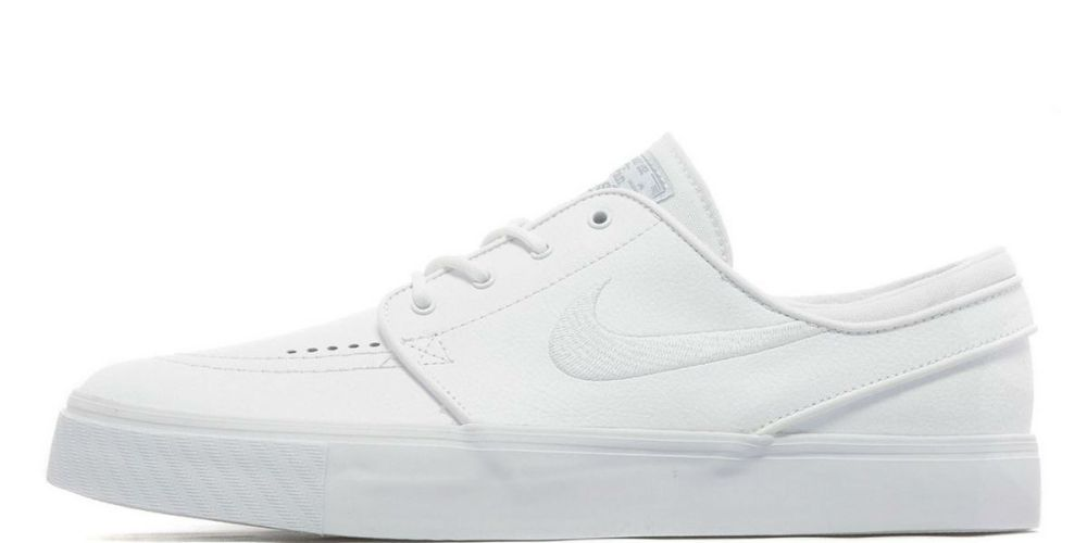 nike janoski leather white