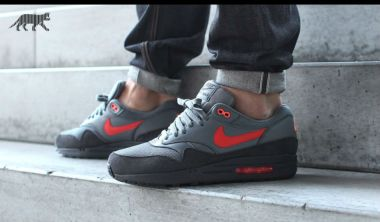 Nike Air Max 1 FB Anthracite/Team Orange