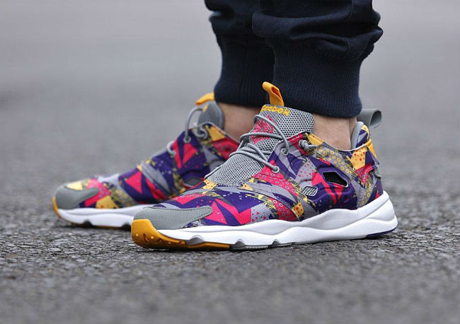 Reebok Furylite Purple/Grey/Pink/Gold