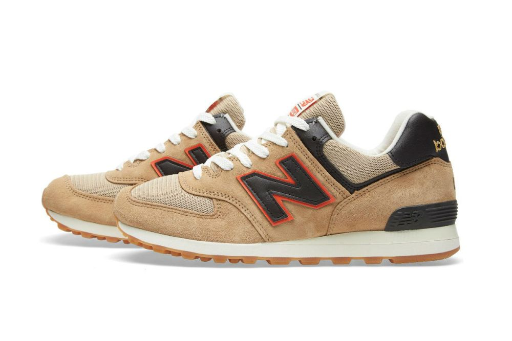 New Balance US574BB Tan Brown/Orange