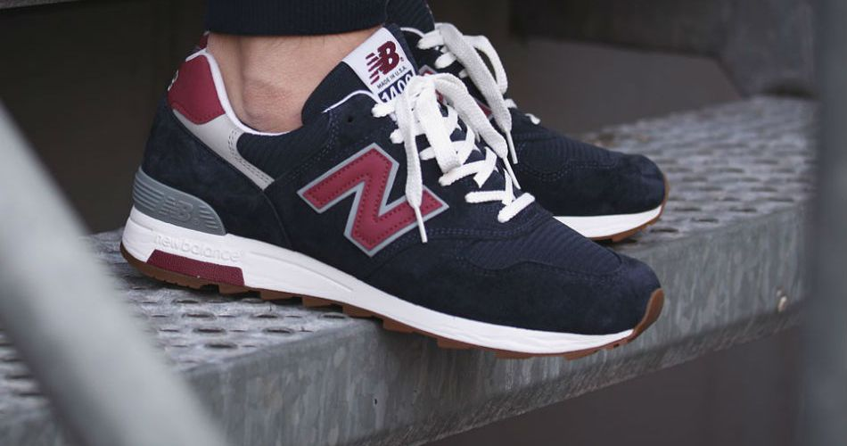 New Balance M1400 CU Navy/Red